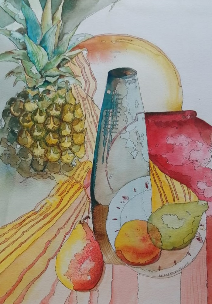 Pots, Pears and Pineapple