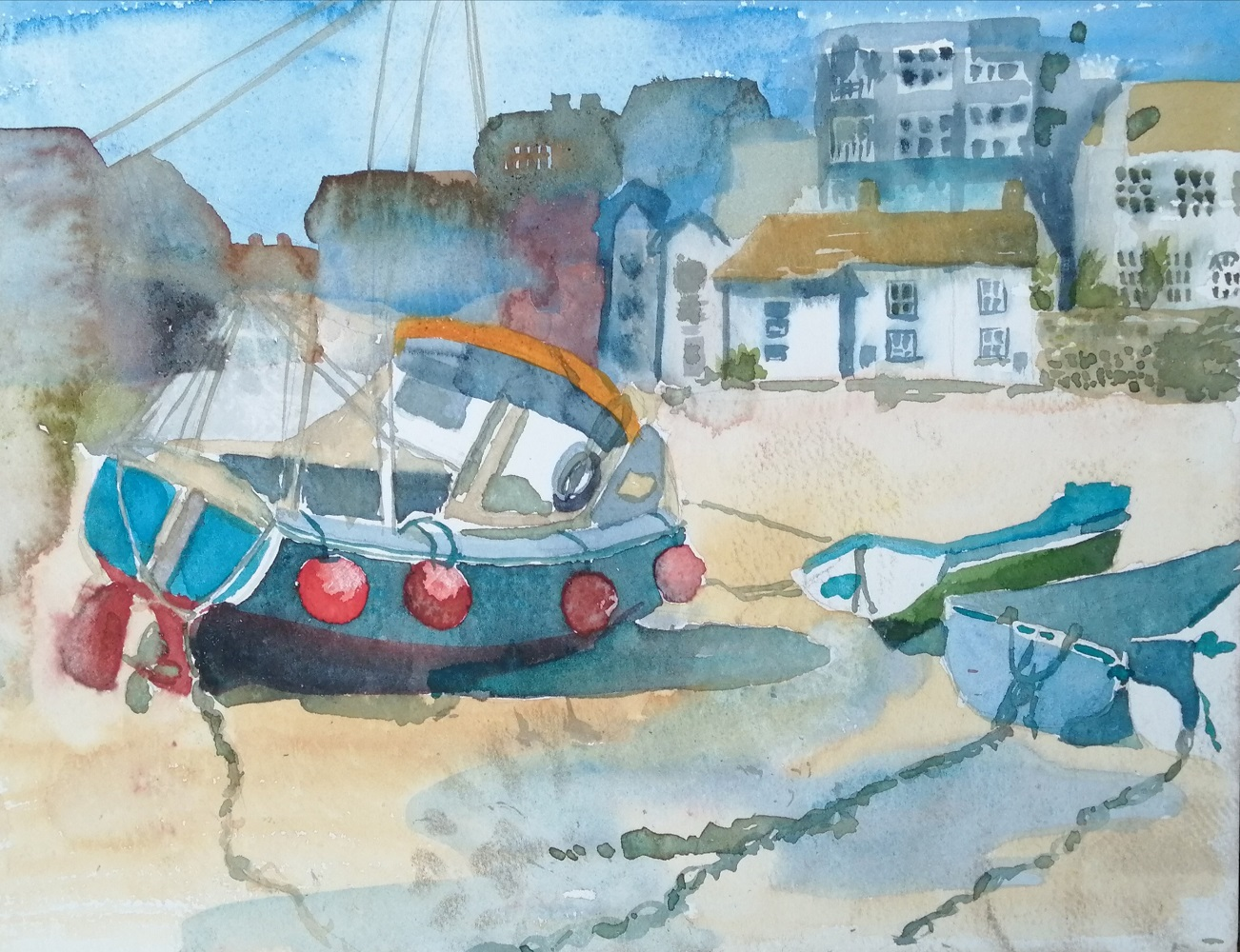 Fishing Boat, St. Ives
